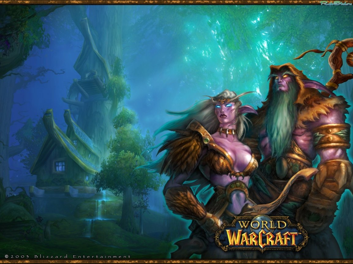 Wow how big is a night elves  nude images