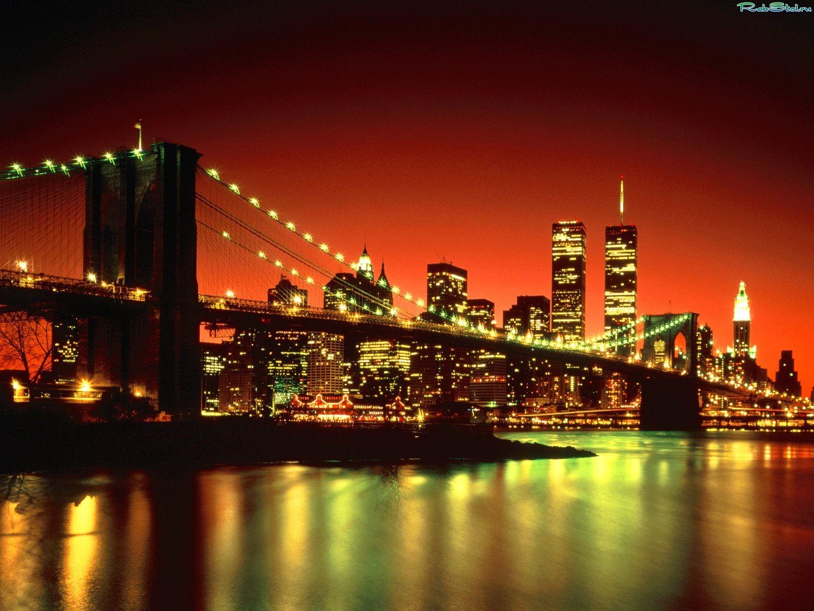фото нью-йорк ночью